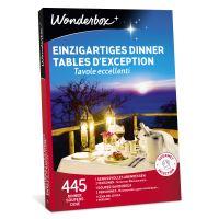 Coffret cadeau Wonderbox Tables d'exception