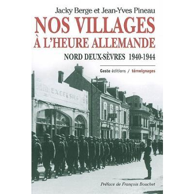 Nos villages sous l'Occupation
