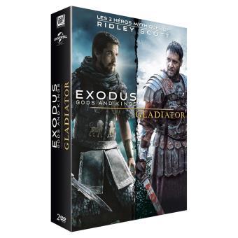 Coffret Exodus et Gladiator Edition Limitée DVD