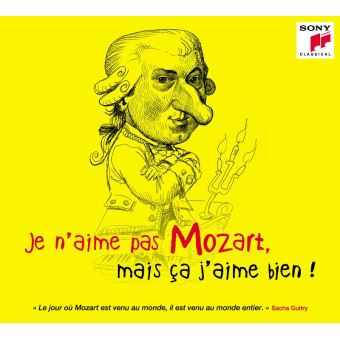 Je n'aime pas Mozart mais ça j'aime bien Digipack