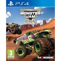 MONSTER JAM -STEEL TITANS FR/NL PS4