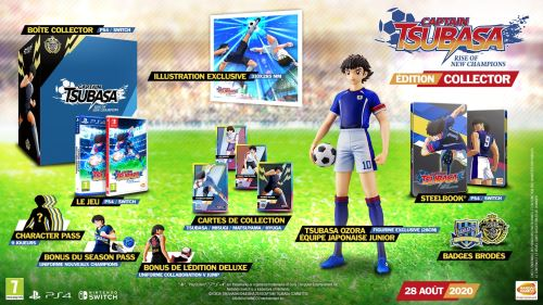 Captain Tsubasa : Rise of New Champions Edition Collector PS4