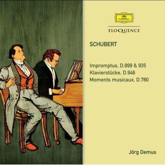 Impromptus D.899 & 935 Klavierstucke D.848 Moments musicaux