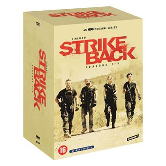 Strike BackStrike Back Saisons 1 à 5 Coffret DVD