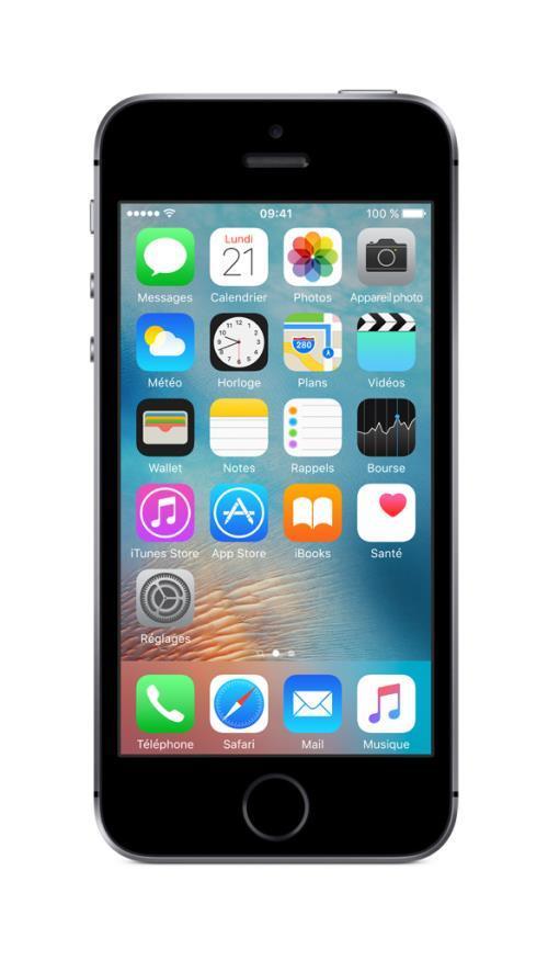 apple iphone 5s gris sideral 64 go neuf reconditionne debloque garantie ebay. Black Bedroom Furniture Sets. Home Design Ideas
