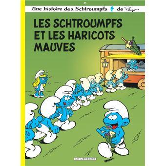 Les SchtroumpfsLes Schtroumpfs Lombard - Les Schtroumpfs et les haricots mauves