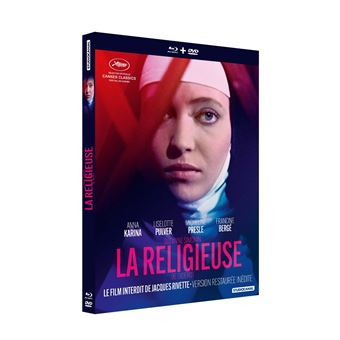 La Religieuse Combo Blu-ray DVD