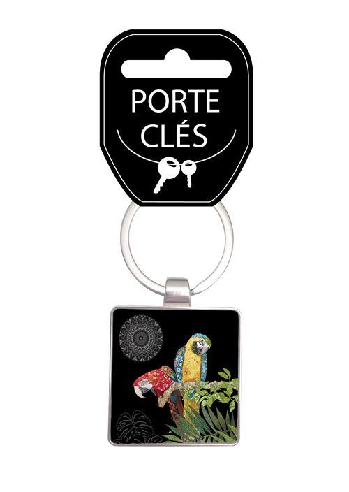 Porte-clés Kiub Bug Art Jewel Perroquet