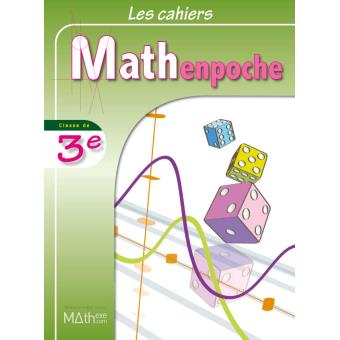 cahiers mathenpoche