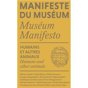 Manifeste du Muséum - Humains et autres animaux