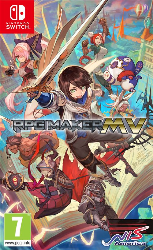 RPG Maker MV Nintendo Switch