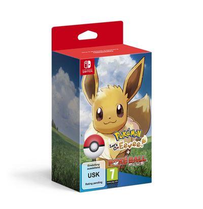 Pokémon Let's Go Evoli + Pokeball Nintendo Switch