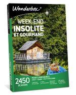 WOND Coffret cadeau Wonderbox Week-end insolite et gourmand