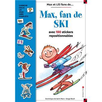 Max et LiliMax fan de ski