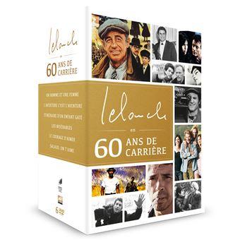 Lelouch en 60 ans de carriere/coffret