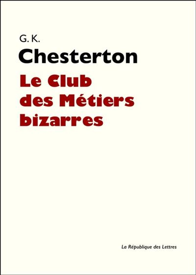 Le Club des Métiers bizarres - 9782824903903 - 4,99 €
