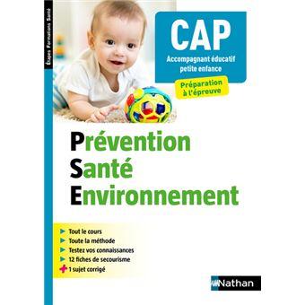 Prevention Sante Environnement Cap Accompagnant Educatif Petite Enfance Efs 2019