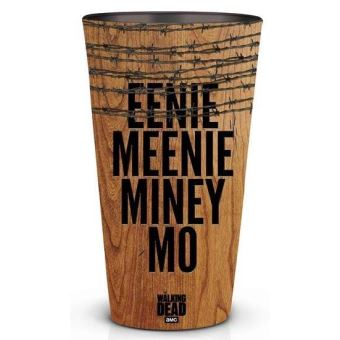 WALKING DEAD-EENIE MEENIE MINEY MO PINT GLASS