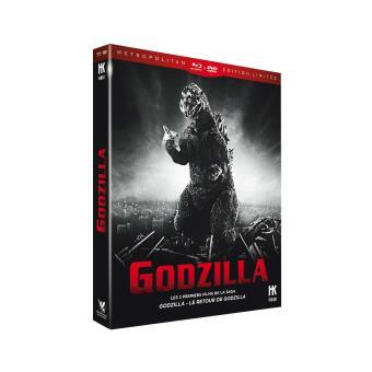 Godzilla, la trilogieGodzilla Combo Blu-ray DVD