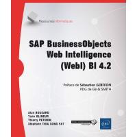 SAP BusinessObjects Web Intelligence (WebI) BI 4.2