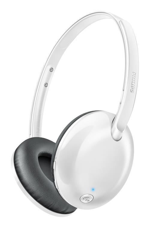 Casque Bluetooth Philips Flite Ultrlite Blanc SHB4405WT/00