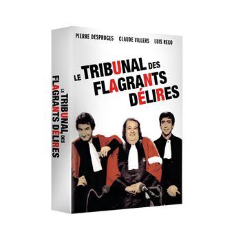 Le Tribunal des flagrants délires DVD