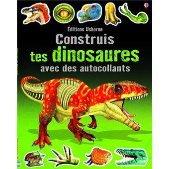 Construis tes dinosaures avec des autocollants