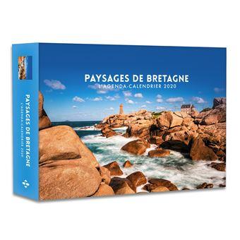 Calendrier Agenda 2020.L Agenda Calendrier Paysages De Bretagne 2020