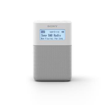 Radio portable digitale stéréo Sony XDR-V20DW DAB/FM Blanche