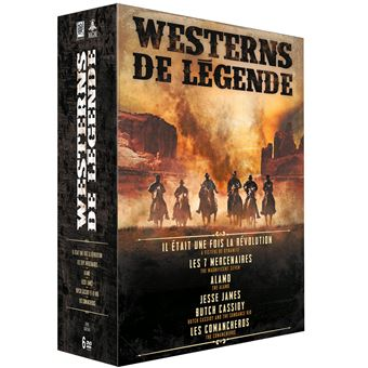 Coffret Westerns de légendes 6 Films DVD
