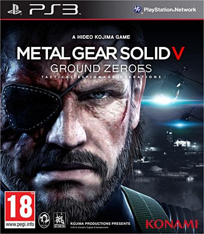 Metal Gear Solid 5 Ground Zeroes PS3 - PlayStation 3