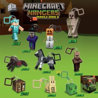 Porte cl s figurine minecraft 6 cm porte clef achat for Porte and minecraft