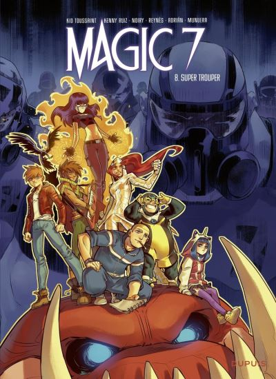 Magic 7 - Tome 8 - Super Trouper - 9791034748426 - 5,99 €