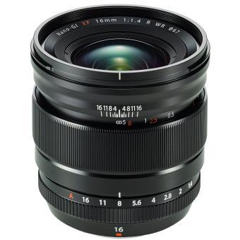 Objectif hybride Fujifilm XF 16 mm F/1.4 R WR