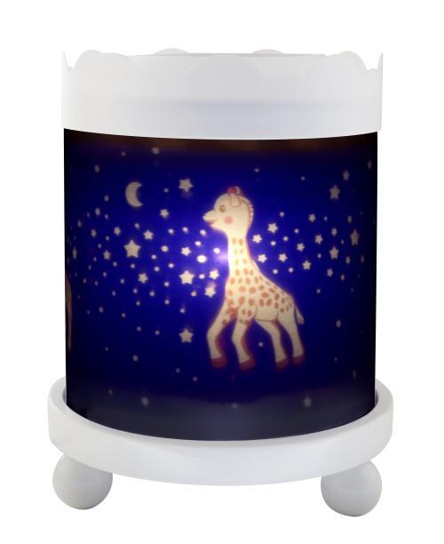 Manège Lanterne Sophie la Girafe Voie Lactée Trousselier Blanc 12V
