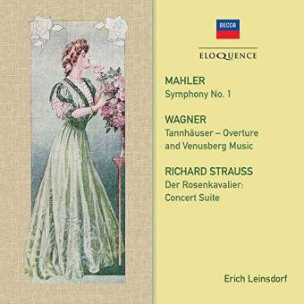 Symphony Numéro 1 Tannhauser Overture Rosenkavalier Concert Suite