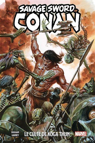 The Savage Sword of Conan T01: Le Culte de Koga Thun