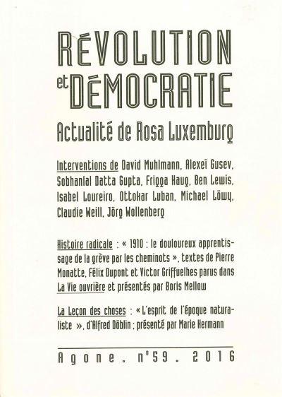 Révolution et démocratie