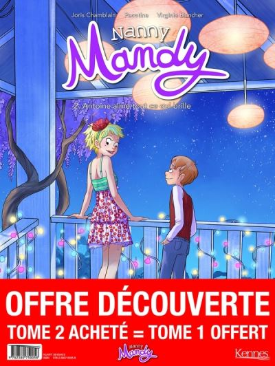 Nanny Mandy - pack T02 acheté = T01 offert
