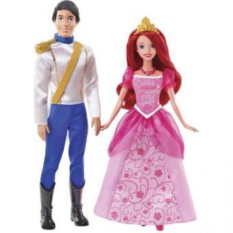 Disney princesses coffret ariel et eric mattel poup e - Jeux de ariel et son prince ...