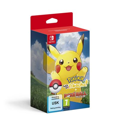 Pokémon Let's Go Pikachu + Pokeball Nintendo Switch