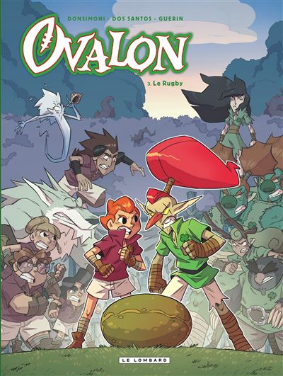 Ovalon - Tome 3 : Le rugby