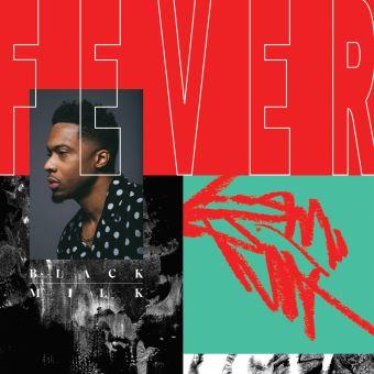 Fever Double Vinyle marbré rouge et noir Inclus un poster