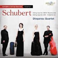 Schubert-string Quartets Vol.1