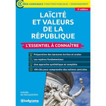 Laïcité et valeurs de la république 2018-2019