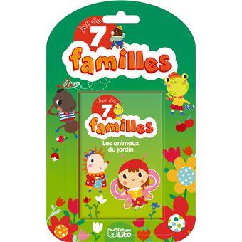 Les animaux du jardin jeu de 7 familles m neradova achat livre fnac - Les animaux du jardin ...