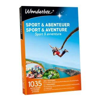 Coffret cadeau Wonderbox Sport et aventure