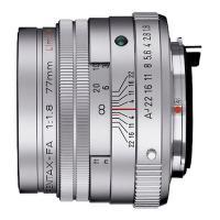 Pentax Smc FA 77 mm f/1.8 Silver Limited Edition