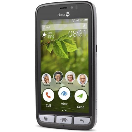 grande remise style de mode remise spéciale de Smartphone Doro 8031 8 Go Noir et Argent