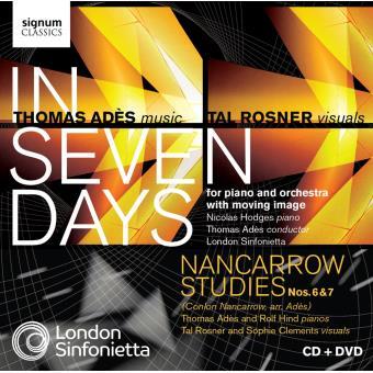 In seven days - London sinfonietta - Inclus DVD